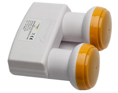 UNIVERSAL LNB MONOBLOCK TWIN HIGH GAIN 0.1 DB GOLDEN MEDIA
