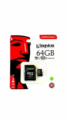 KINGSTON MICRO SD 64GB CLASS 10
